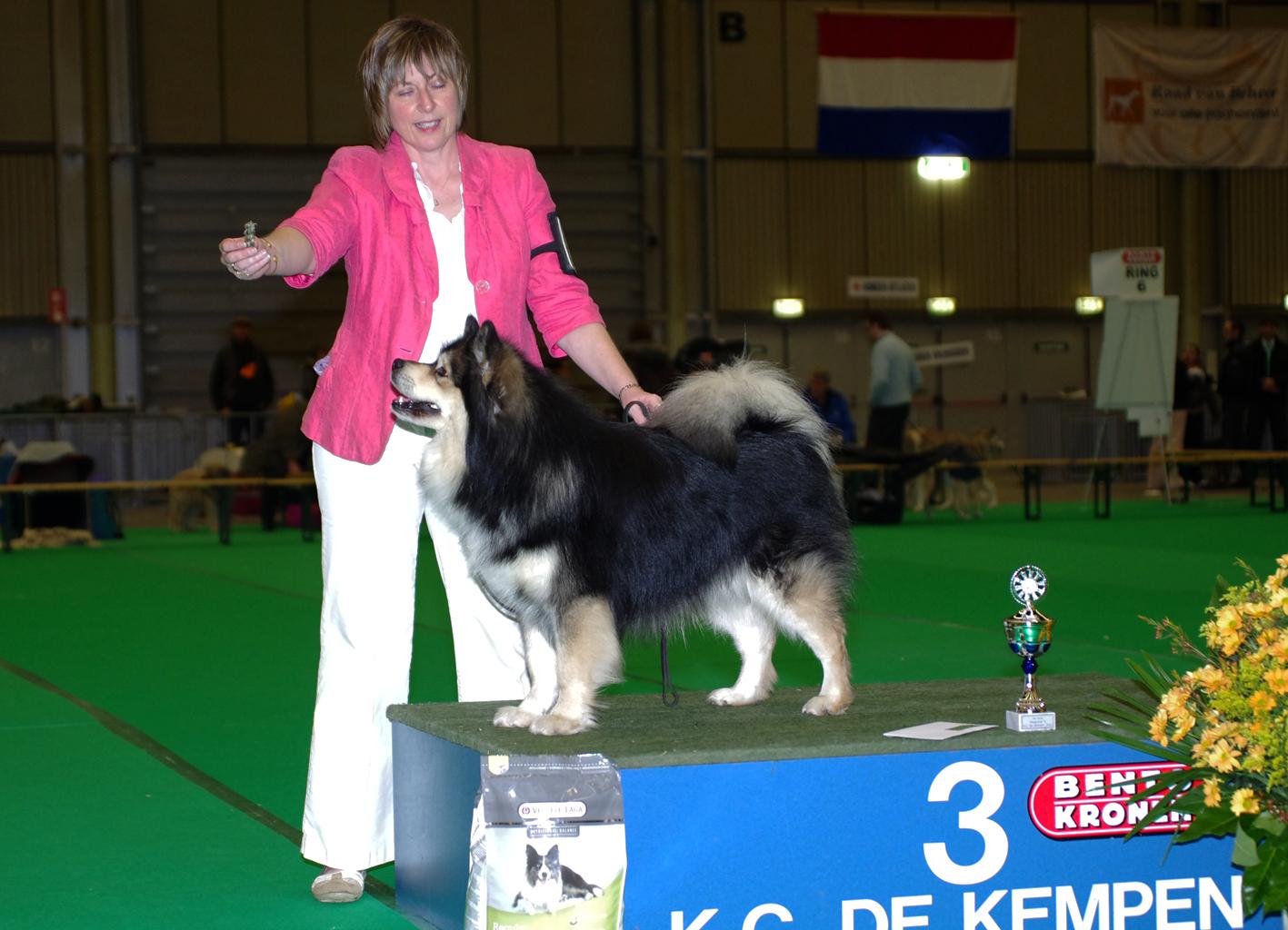 Elbereth Matkamies winning G3 at Eindhoven